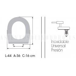 Asientos tapas de wc y bid de la marca de sanitarios for Marcas de wc