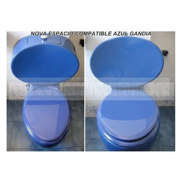 Asientos wc tapas inodoro w ter compatibles novo espacio gala for Tapa water gala