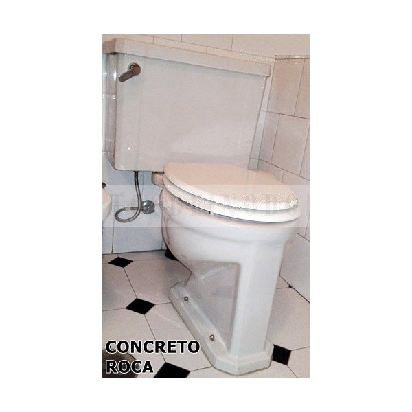 Asientos wc tapas inodoro w ter bid concreto roca for Tapa water roca