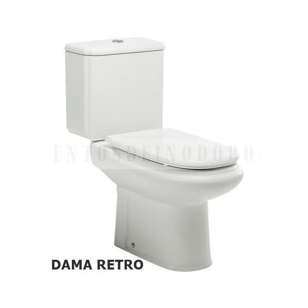 Asientos wc tapas inodoro w ter bid dama retro roca for Tapas de wc universales